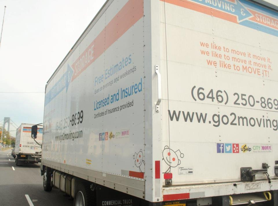 Go To Moving will get you there. We will reach out about your move shortly.